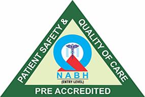 NABH Pre-Accredited Logo